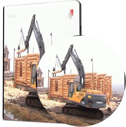 Современный дом из дерева. заготовка, строительство, эксплуатация (2010/SATRip)